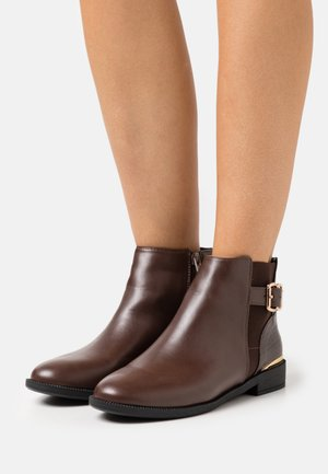 MILA JODPHUR  - Ankle boots - choc