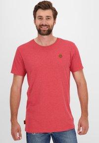 alife & kickin - MADDOXAK - Basic T-shirt - fiesta - 0