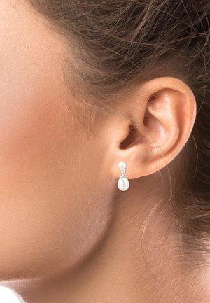 PERLEN  - Earrings - silver