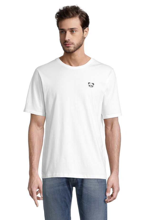 PANDA - T-shirt con stampa - offwhite
