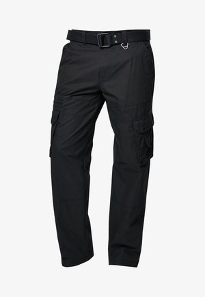TECH - Pantaloni cargo - black