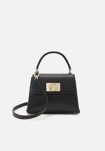 MINI TOP HANDLE - Handbag - nero