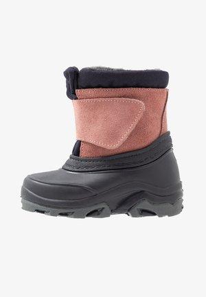 Zimní obuv - dark blue/rose