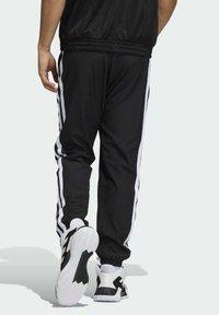 adidas Performance - SUMMER AEROREADY PRIMEGREEN BASKETBALL - Spodnie treningowe - black - 1