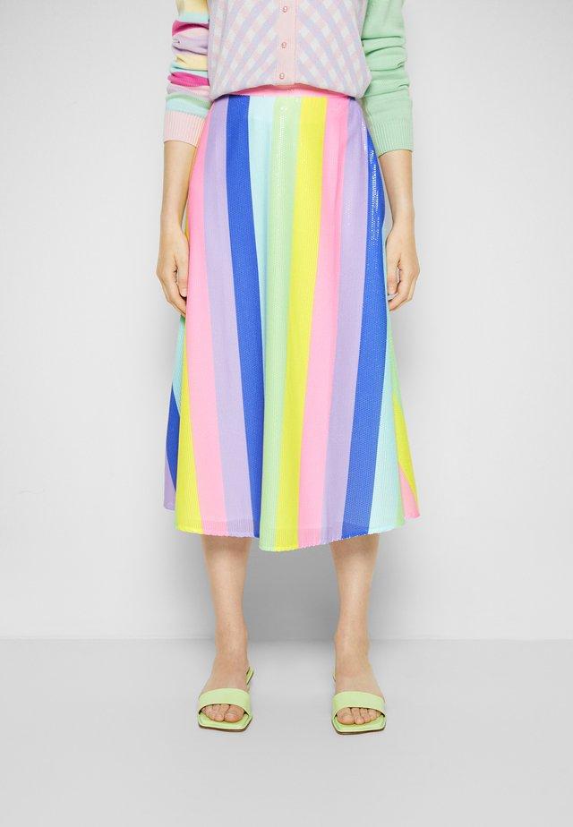 PENELOPE - Áčková sukně - stripe