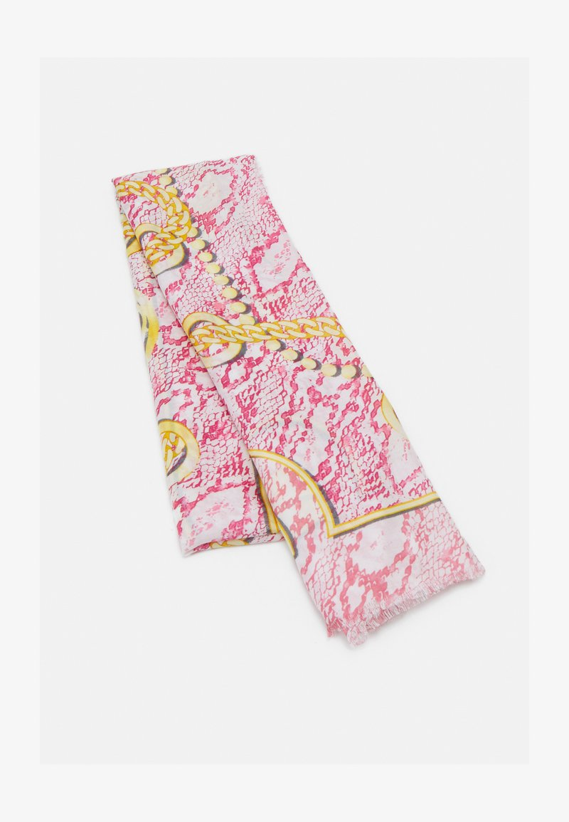 Guess - PRINTED SCARF - Écharpe - pink