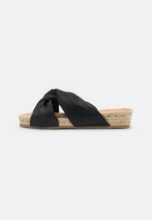 LEDA - Mules - black