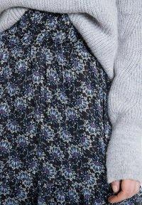 Maison 123 - A-line skirt - bleu marine - 3
