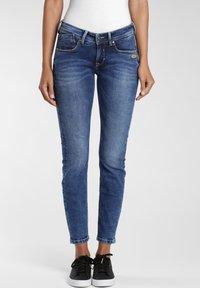 Gang - Jeans Skinny Fit - blue mid wash - 0