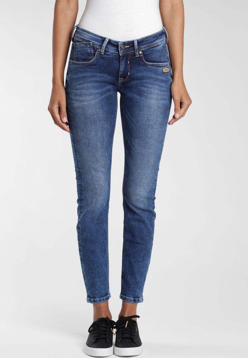 Gang - Jeans Skinny Fit - blue mid wash