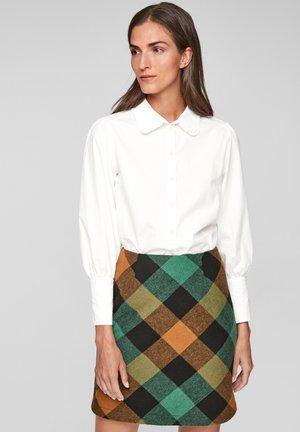 Mini skirt - navy check