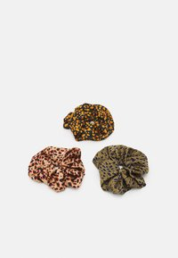 Pieces - PCNAINA OVERSIZED SCRUNCHIE 3 PACK - Hair styling accessory - warm sand/navy/green - 0