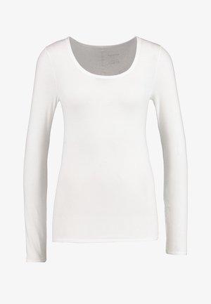 PERSONAL FIT LONGSLEEVE - Pyjama top - offwhite