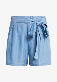 Vero Moda - VMMIA LOOSE SUMMER - Shortsit - light blue denim - 4