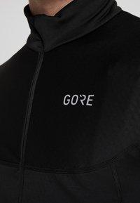 Gore Wear - THERMO ZIP  - Funkční triko - black - 5