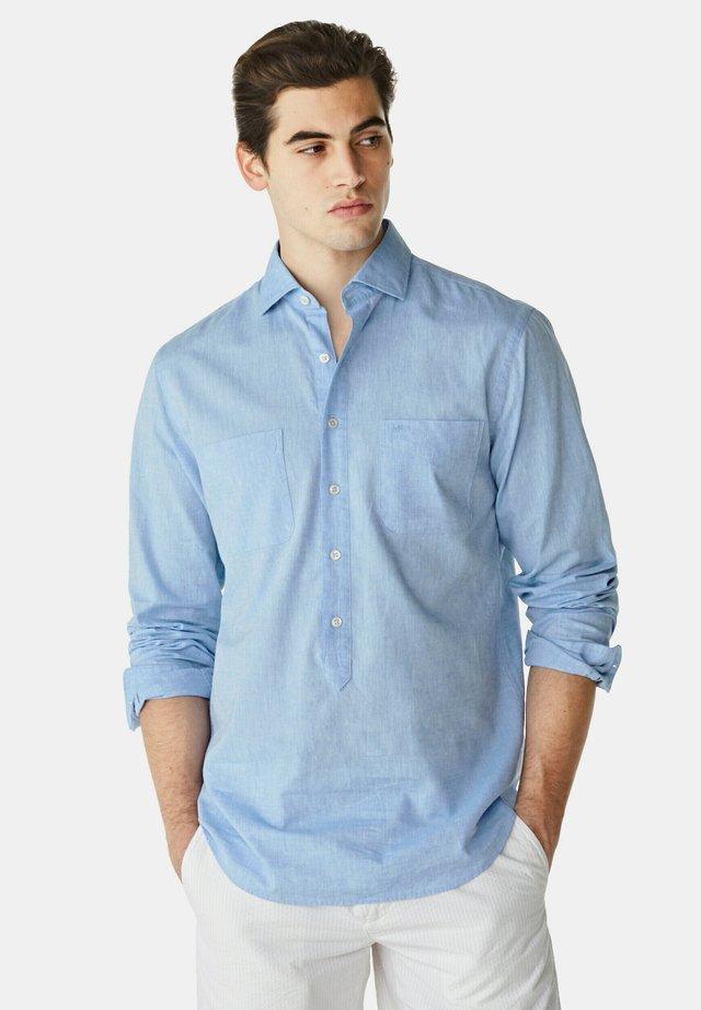 POPOVER - Overhemd - shirt blue
