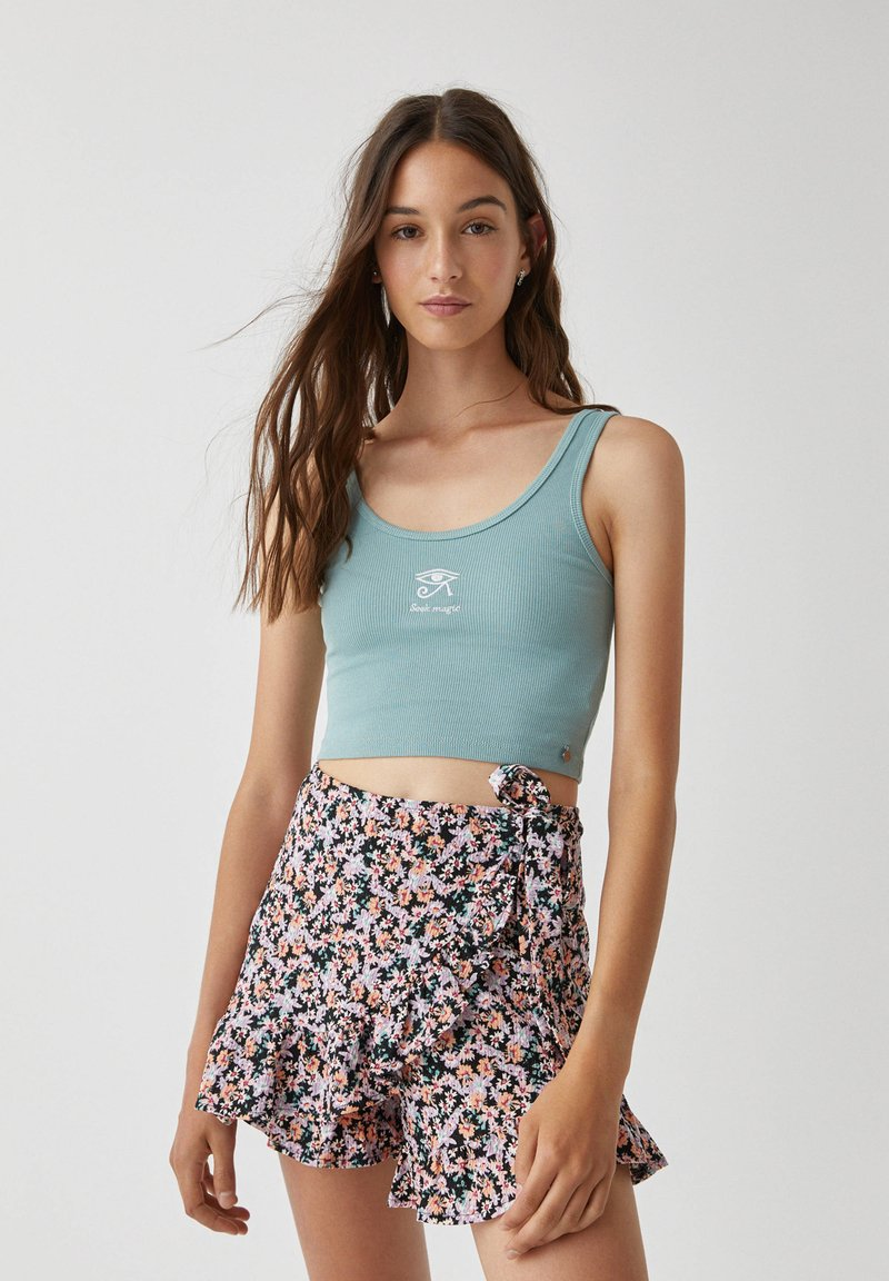 PULL&BEAR - Top - green