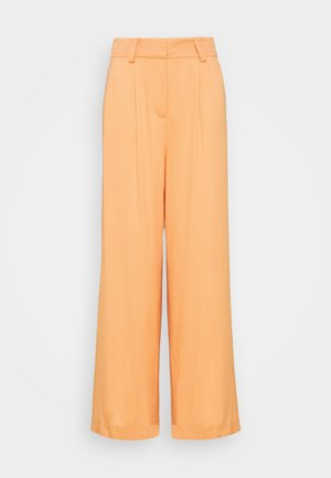 KELLY TROUSERS - Tygbyxor - orange