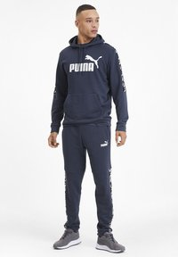 Puma - AMPLIFIED  - Hættetrøjer - dark denim - 1