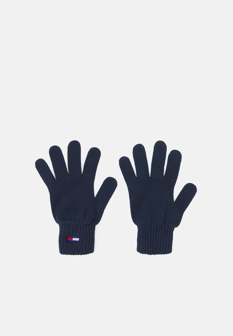 Tommy Jeans - FLAG GLOVE - Gloves - twilight navy