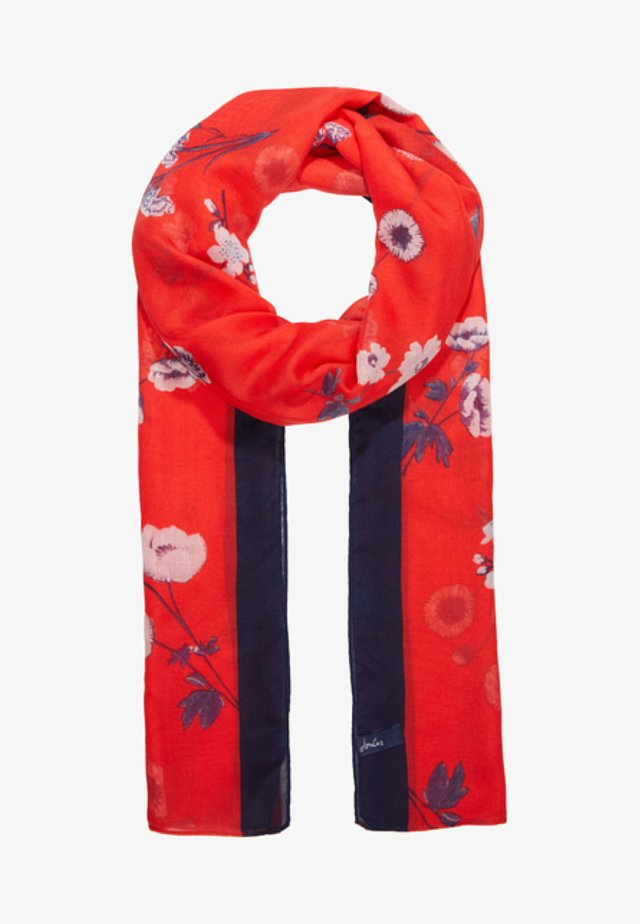 WENSLEY - Scarf - red