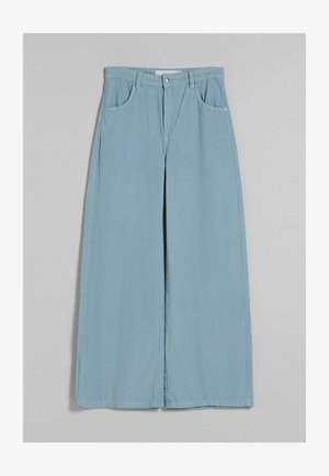 WIDE LEG  - Trousers - blue