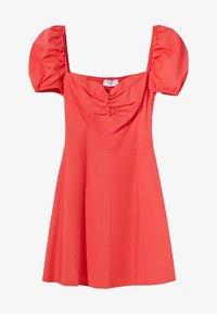 Bershka - Day dress - neon pink - 5