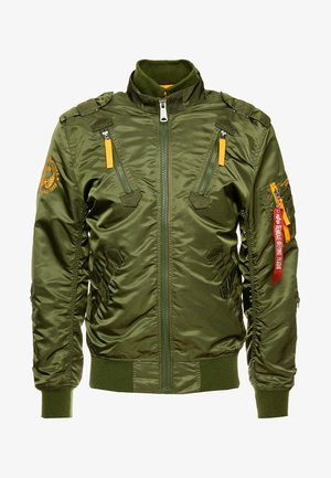 Giubbotto Bomber - dark green