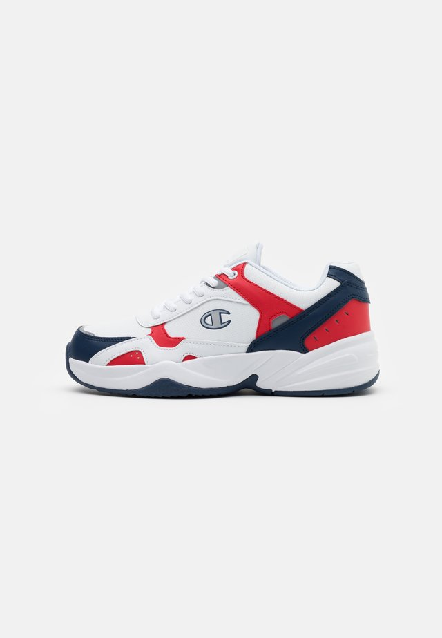 SHOE PHILLY - Sneakersy niskie - white/new navy/red