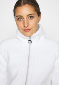 Luhta - EDINA - Fleece jacket - optic white - 2