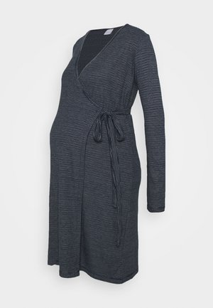 MLSANDIE TESS DRESS - Jersey dress - navy blazer/snow white