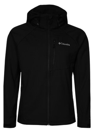 CASCADE RIDGE  - Kurtka Softshell - black