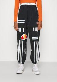 Ellesse - OLTUS TRACK PANT - Pantalones deportivos - black - 0