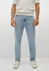 Mango - Relaxed fit jeans - hellblau - 0