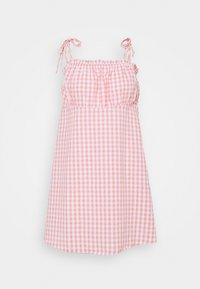 Cotton On - MATILDA TIE STRAPPY MINI DRESS - Day dress - fairy floss - 4