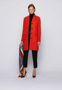 BOSS - Classic coat - dark orange - 1