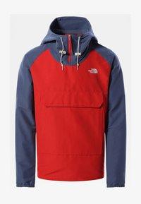 The North Face - M CLASS V PULLOVER - Kapuzenpullover - rococco red vintageindigo - 0