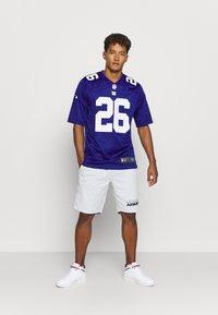 Nike Performance - NFL NEW YORK GIANTS SAQUON BARKLEY GAME TEAM - Klubové oblečení - rush blue - 1