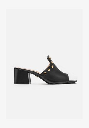 SAGE - Heeled mules - black