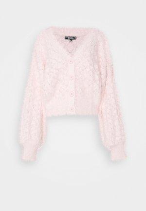 POINTELLE CARDI - Cardigan - pink