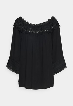 BEA BLOUSE - Blouse - pitch black