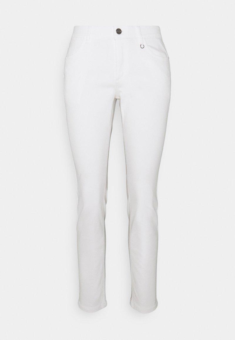 comma - Džíny Slim Fit - white
