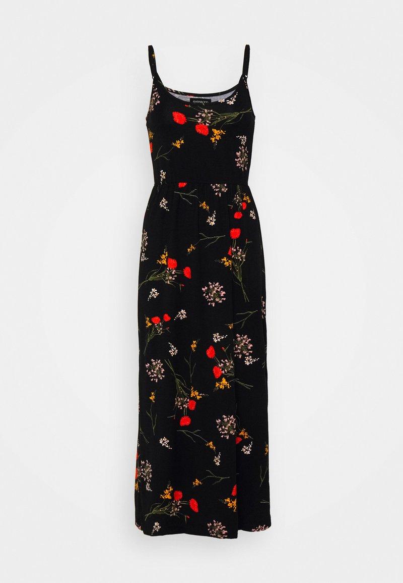 Even&Odd Tall - Jersey dress - black/multi-coloured