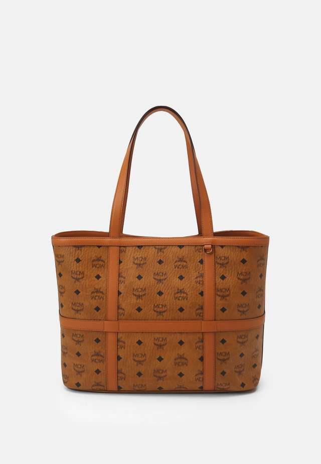 DELMY VISETOS SHOPPER MEDIUM - Cabas - cognac
