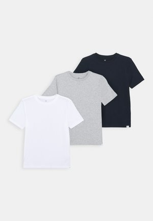 BOYS BASIC TEE 3 PACK - Triko s potiskem - multi