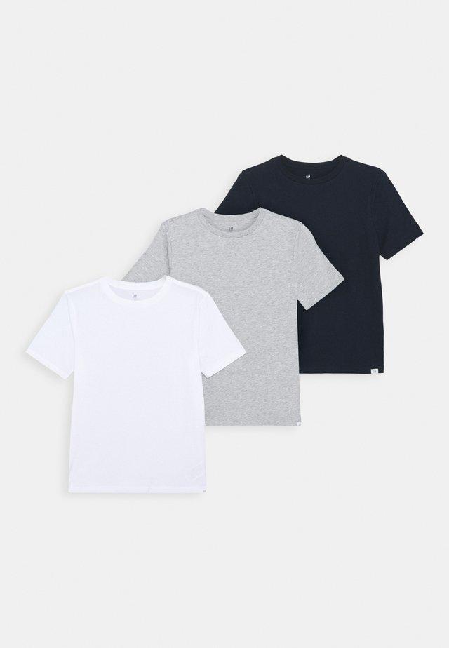 BOYS BASIC TEE 3 PACK - Print T-shirt - multi
