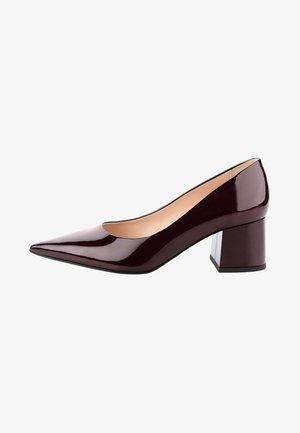 CACCIVIO  - Classic heels - bordeaux