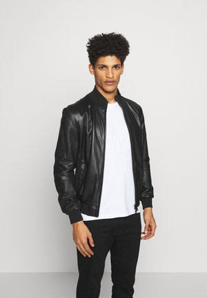CABAN PELLE - Leather jacket - nero