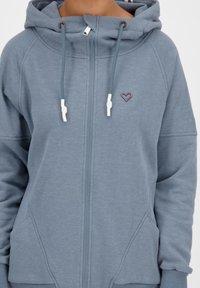 alife & kickin - MARIAAK  - Zip-up hoodie - blue - 4