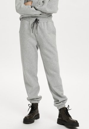 Tracksuit bottoms - pearl grey mel